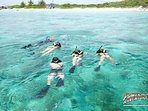 Snorkeling in the Exuma Cays with Powerboat quite fabulous!