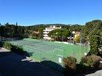 Tennis en accès libre