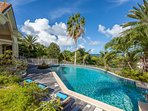 ORIENT VIEW...  gorgeous 4 BR villa overlooking Orient Bay, perfect for large