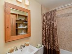 La Dulce Vie Upstairs Bathroom Frisco Lodging Vacation Rental