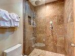 Upstairs Master Shower