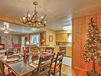 This home is the perfect place to gather with friends and family during the holidays.