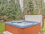 End your evenings gathered in the hot tub!