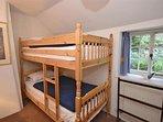 The bunk bedroom.
