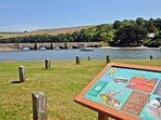 Bowcombe Creek is a short distance from Westcliffe, great for crabbing and wildlife spotting