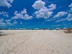 Siesta Key, Cresecent Beach with Cool, White Sand.