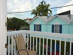 Take in the beautiful island sounds from your upper patio