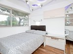 Bedroom 4 - Widescreen TV, light-raft, double-bed