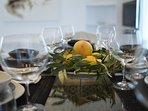 Mykonos Art Villas. Dining with style!