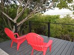Private Deck and view over Juba Sound