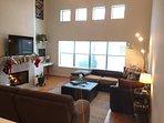 Living Room-2nd Floor 50in TV.