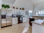 Great Room kitchen area