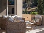 LMG Villas: upper level terrace