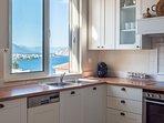 LMG Villas: upper level kitchen