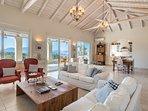 LMG Villas: upper level living room