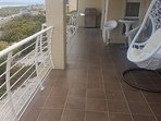 balcony with views and bbq brai