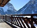 Grand balcon hiver