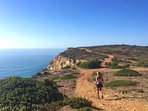 Cliff path runs and walks just 5 minutes on foot