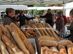 Farmers markets in both the nearby towns of Monsegur and Duras.