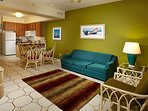 Separate living room & dining room areas offer comfort & space..