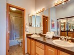 Lake Forest Master Bathroom Frisco Lodging Vacation Rental