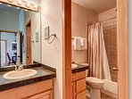 Lake Forest Bathroom 2 Frisco Lodging Vacation Rental