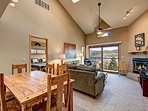 Lake Forest Living & Dining Area Frisco Lodging Vacation Rental
