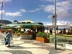 Copacabana Promenade and kiosk