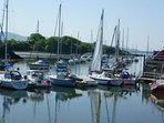 Porthmadog Harbour 10 mins drive