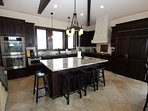 Large Gourmet Kitchen with High End Appliances