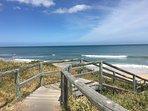 Good access down to Beach.