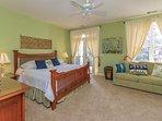 2nd Floor King Suite w/ Queen Sleeper Sofa