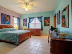 Another view of cheery Master bedroom