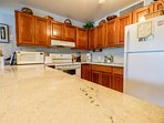 Gorgeous countertops! Prepare your meals here or have our manager's wife prepare them for you!