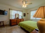 Master Bedroom! Lots of light and views from all windows at Sunset Beach!