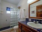 Full bathroom on second level!