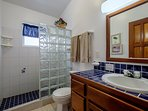 Private bathroom off of the master bedroom