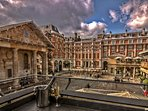 Covent Garden for food, shopping and entertainment is a 15 minute walk away.