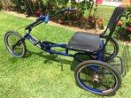 Bicicleta de 3 rodas (cortesia)