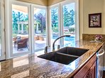 Kitchen to pool