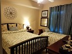 Queen Size Bed with Twin