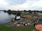 Out-door cinema