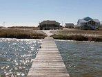Boardwalk to boat house/dock