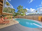Beat the Arizona heat in your private pool in this spacious backyard!