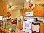 Whip up a home-cooked meal in the fully equipped kitchen.