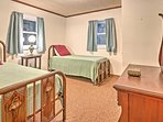 Talk into the hours of the night with your roommate before drifting off to sleep in the comfy twin-sized beds.