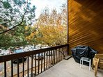 To access your private balcony, just use the sliding glass door located off of the family room. It has chairs and a...