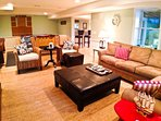 Basement - lounge TV area