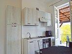 Villa Mercadante: kitchen
