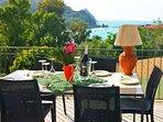 Villa Mercadante: sea view terrace